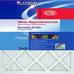 DuPont ProClear Maximum Allergen Electrostatic 20-Inch by 24-Inch Air Filter