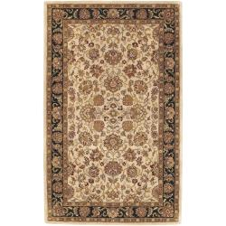 Hand-tufted Pinara Beige New Zealand Wool Rug (5' x 8')