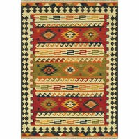 Hand Woven Cordova Multi Wool Rug - 3'6 x 5'6