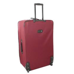 Kemyer Vacationer Lightweight 4-piece Burgundy Expandable Luggage Set - Thumbnail 1