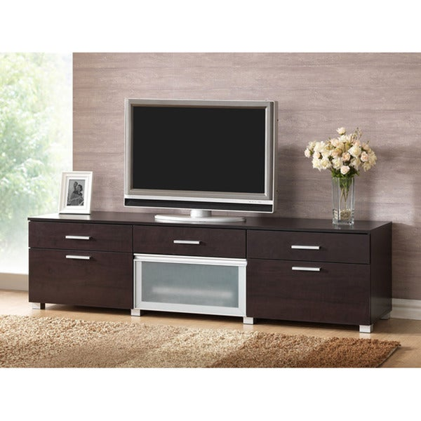 Basilio Dark Brown TV Cabinet