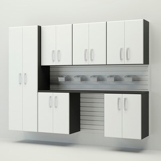 Flow Wall 8-piece Deluxe Cabinet Set