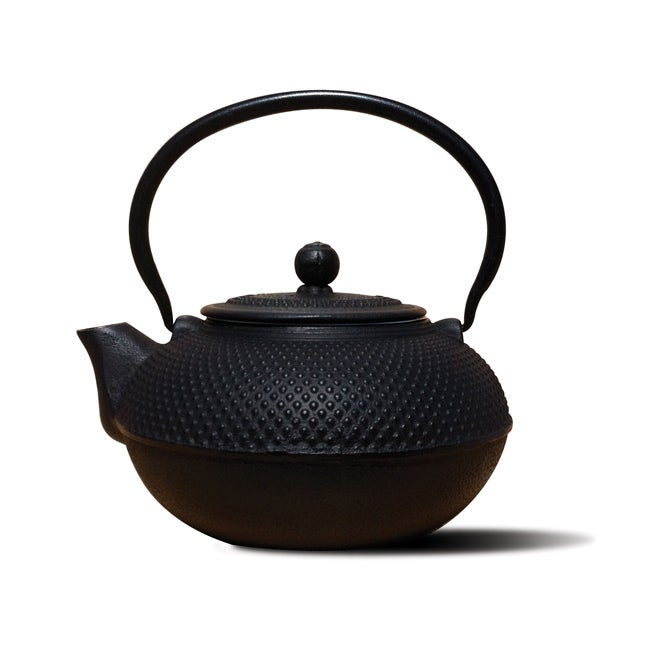 Old Dutch Matte Black 'Saga' Teapot