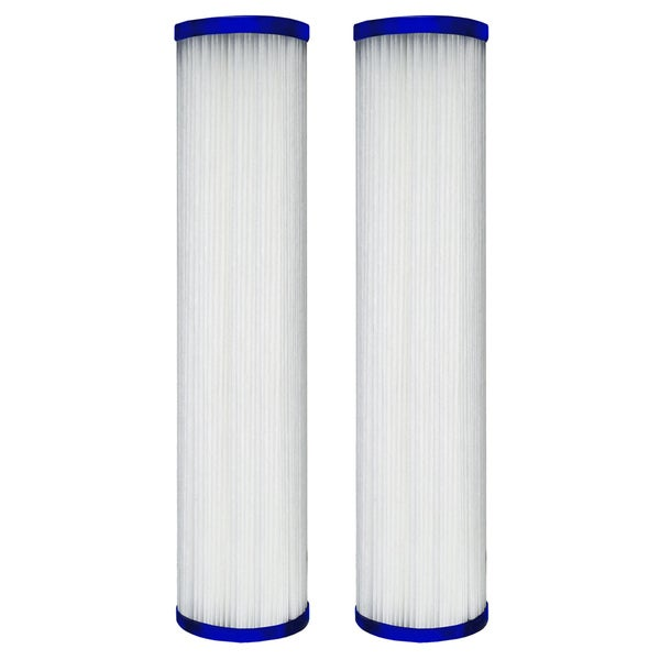 Universal Whole House Pleated Poly Cartridge (Pack of 2)