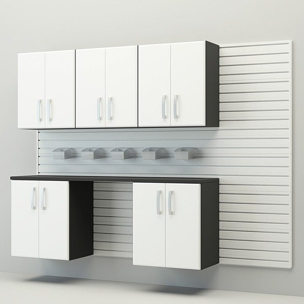 Flow Wall 7-piece Workstation
