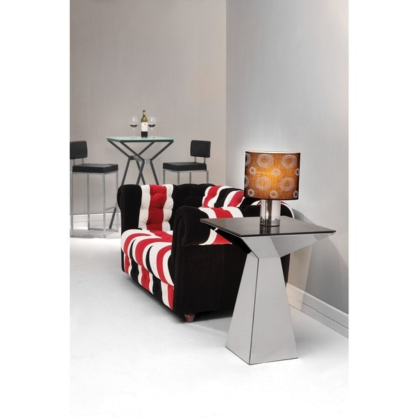 Tyrell Black Side Table