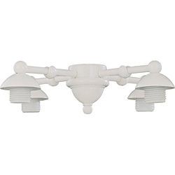 Four Light Swiss Coffee Ceiling Fan Light Kit