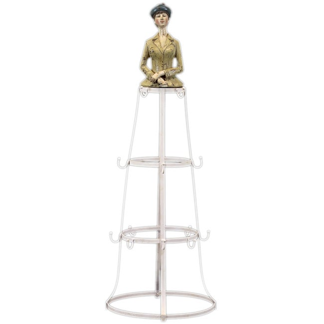 Urban Trend Resin Lady on The Stand Accent Piece