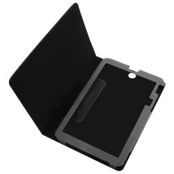 BasAcc Black Leather Case for Toshiba Thrive