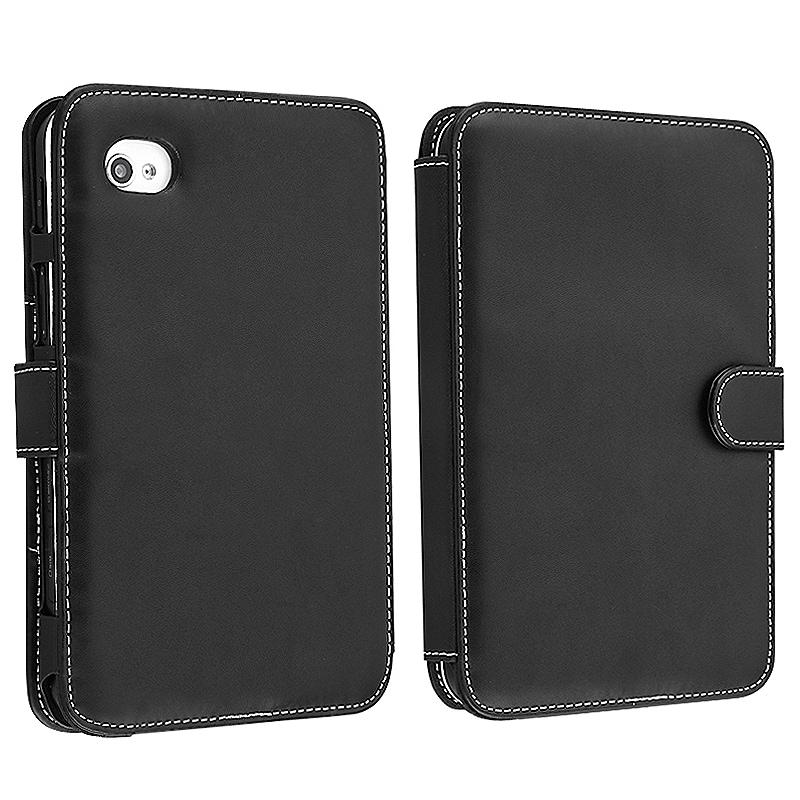 BasAcc Black Leather Case for Samsung Galaxy Tab P1000 7.0-inch