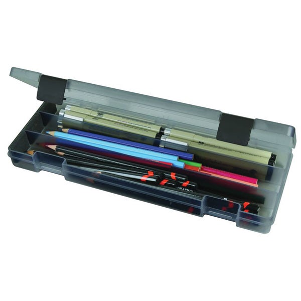 ArtBin Pencil Box-Translucent Charcoal