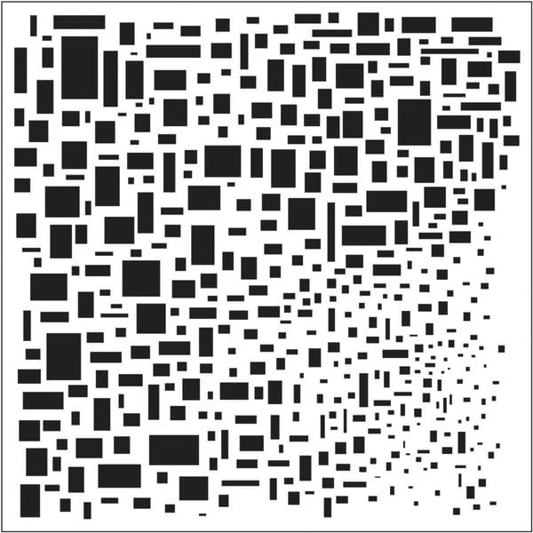 "Crafter's Workshop Templates 12""X12""-Cubist"