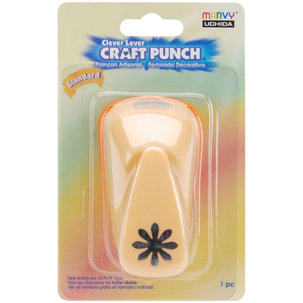 Clever Lever Standard Craft Punch-Daisy