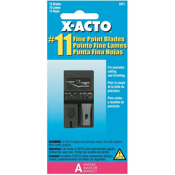 X-Acto #11 Refill Blades-15/Pkg