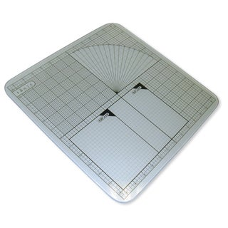 Tempered Glass Cutting Mat-12X12 Measuring Grid