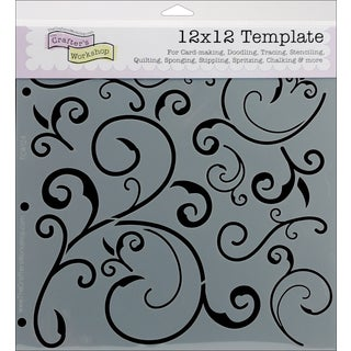 """Crafter's Workshop Templates 12""""X12""""-Capricious"""