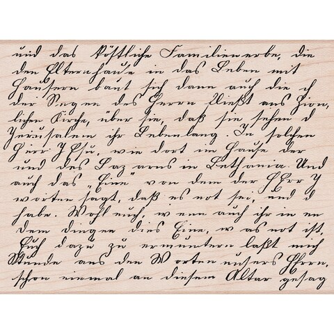 """Hero Arts Mounted Rubber Stamps 4.5""""X3.75""""-Old Letter Writing"""