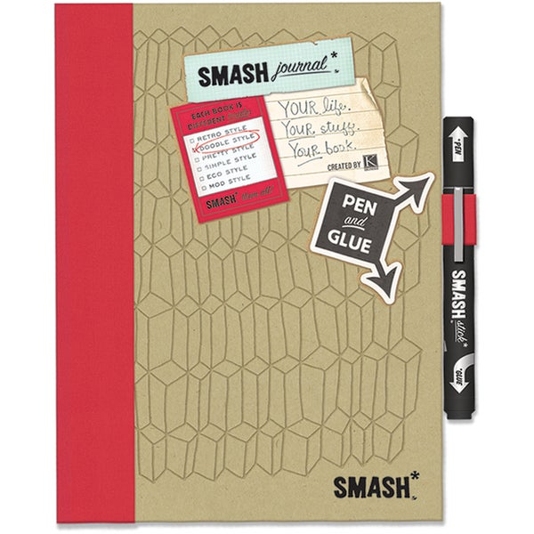 Doodle Red SMASH Folio-Doodle Red