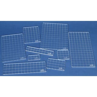 Nine-piece Tim Holtz Collection Clear Acrylic Grid Block Set|https://ak1.ostkcdn.com/images/products/6979018/P14490918.jpg?impolicy=medium