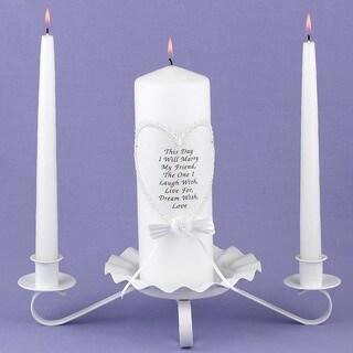 HBH Friendship Unity Candle Set