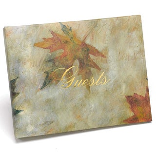 Maple Leaf Guest Book