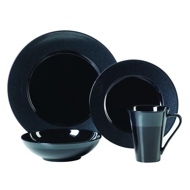 9e675a3b2a7d Shop Sasaki Galaxy 16-piece Dinnerware Set - Free Shipping Today -  Overstock - 6979409