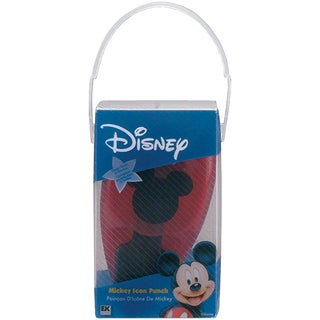 "Disney Paper Shapers Medium Punch-Mickey Icon 1""x1"""