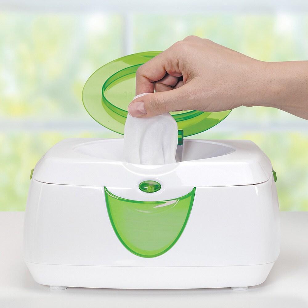 Munchkin Warm Glow Wipe Warmer (Baby wipe warmer), Green