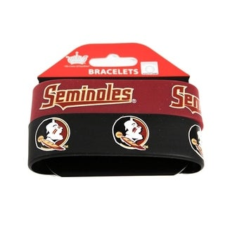 Florida State Seminoles Rubber Wrist Band (Set of 2)