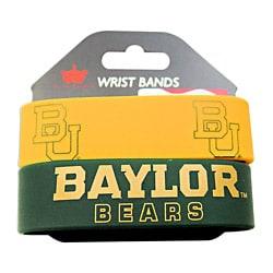 Baylor Bears Rubber Wrist Band (Set of 2)