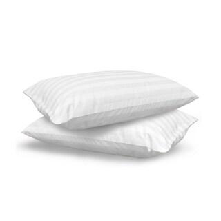 SwissLux Eco Fiber 300 Thread Count Bed Pillow (Set of 2)