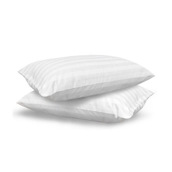 SwissLux Eco Fiber 300 Thread Count Bed Pillow (Set of 2)