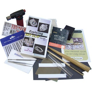 Art Clay World Silver Starter Kit to Mold, Shape and Create Jewelry