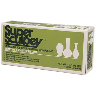 Super Sculpey 1 Pound Beige Polymer Clay