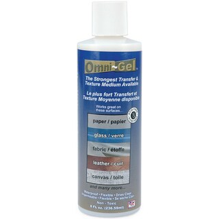 Speedball 8-ounce Omni-Gel Transfer Medium for Different Surfaces