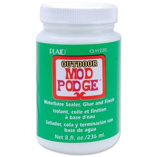 Plaid Mod Podge Non-toxic Outdoor Sealer, Glue and Finish-8 Ounces