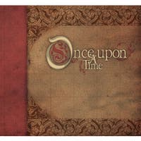 "Once Upon A Time Postbound Album W/Glitter 12"" x 12"""
