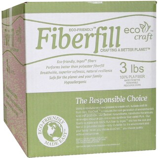 Eco-Friendly Fiberfill -3 Pounds FOB:MI