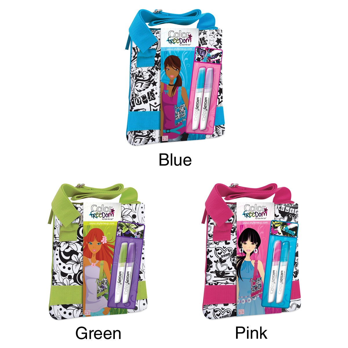 Style Me Up Color Freedom Small Shoulder Bag Kit