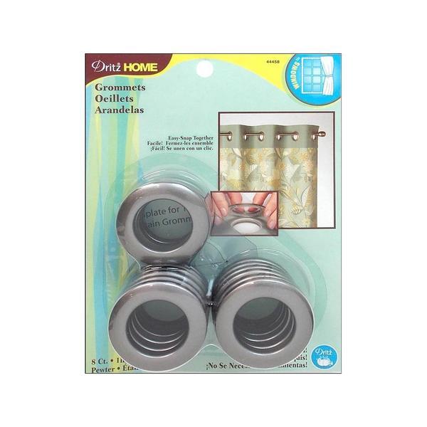 Curtain Grommets 1-inch Inner Diameter Plastic (Set of 8)