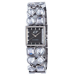 Chronotech Women's Brown Mother of Pearl Dial Stainless Steel and Crystal Watch|https://ak1.ostkcdn.com/images/products/6980728/Chronotech-Womens-Brown-Mother-of-Pearl-Dial-Stainless-Steel-and-Crystal-Watch-P14492267.jpg?_ostk_perf_=percv&impolicy=medium