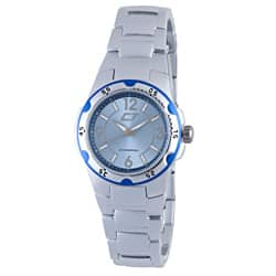 Chronotech Women's Light Blue and Silver Aluminum Watch|https://ak1.ostkcdn.com/images/products/6980750/Chronotech-Womens-Light-Blue-and-Silver-Aluminum-Watch-P14492276.jpg?impolicy=medium