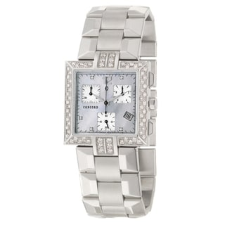 Concord Women's 'La Scala' Stainless Steel Watch