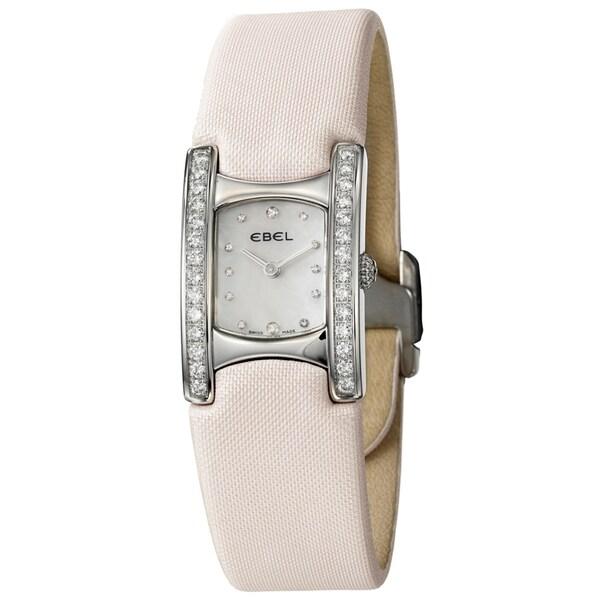 Ebel Women's 'Beluga Manchette' Stainless Steel Watch