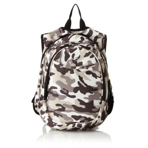 Obersee Kids Pre-School All-In-One Camo Backpack With Cooler