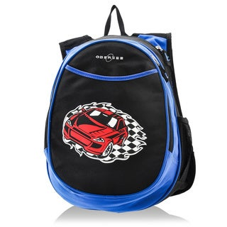 Obersee Kids Pre-School All-In-One Racecar Backpack With Cooler