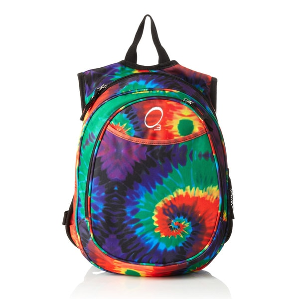 O3 Kids Pre-School All-In-One Tie Dye Backpack With Cooler