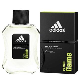 Adidas Pure Game Men's 3.4-ounce Eau de Toilette Spray