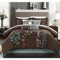 The Grey Barn Doelger Chocolate Brown 12-piece Bed in a Bag Set