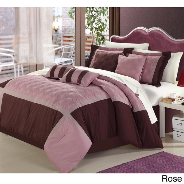 Quincy 12-piece Bed in a Bag with Sheet Set